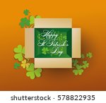 happy st. patrick day | Shutterstock .eps vector #578822935