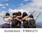 sydney   feb 12 2017  tourist... | Shutterstock . vector #578841271