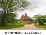 temples of bagan  myanmar | Shutterstock . vector #578842834