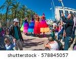 jerusalem  israel  march 06 ... | Shutterstock . vector #578845057