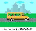 vector illustration of cartoon...   Shutterstock .eps vector #578847631