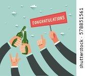 businessmen hands gesturing and ...   Shutterstock .eps vector #578851561