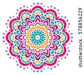 mandala. vector ethnic oriental ...   Shutterstock .eps vector #578856229