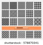 vector geometric texture pack...   Shutterstock .eps vector #578870341