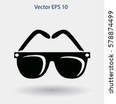 sunglasses vector illustration   Shutterstock .eps vector #578874499