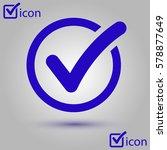 check list button icon. check...   Shutterstock .eps vector #578877649