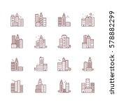 city skyline  urban landscape... | Shutterstock .eps vector #578882299