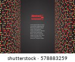 abstract background with... | Shutterstock .eps vector #578883259