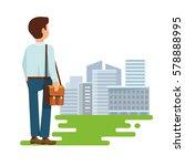 vector illustration concept of... | Shutterstock .eps vector #578888995