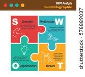business minimal infographic... | Shutterstock .eps vector #578889037