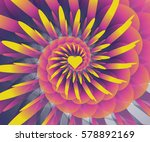 abstract of heart | Shutterstock . vector #578892169