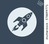 rocket icon | Shutterstock .eps vector #578899771