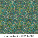 vector seamless pattern with...   Shutterstock .eps vector #578914885
