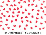 valentine's day  decorative... | Shutterstock . vector #578920357