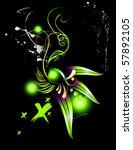 vector plants illustration | Shutterstock .eps vector #57892105