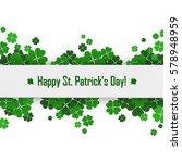 saint patrick's day vector...   Shutterstock .eps vector #578948959