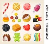 Set Of Top Popular Sweet...