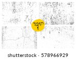 set of scratch grunge urban... | Shutterstock .eps vector #578966929