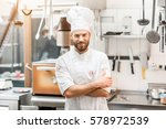 portrait of chef cook in... | Shutterstock . vector #578972539