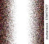 brown colorful irregular... | Shutterstock .eps vector #578977477