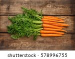 Fresh Organic Carrots With...