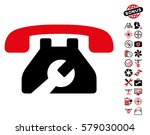 repair service phone icon with... | Shutterstock .eps vector #579030004