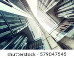the office building in city of... | Shutterstock . vector #579047545