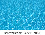 Blue Pool Water Background ...