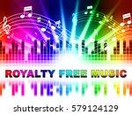 royalty free music design...   Shutterstock . vector #579124129