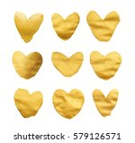 set of shining hearts for you... | Shutterstock . vector #579126571