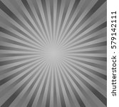 abstract gray rays background.... | Shutterstock .eps vector #579142111