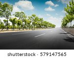 beautiful road   Shutterstock . vector #579147565