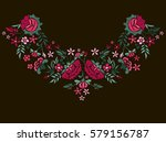 vector design for collar t... | Shutterstock .eps vector #579156787