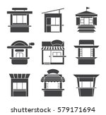 collection of vector icons of... | Shutterstock .eps vector #579171694