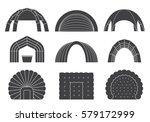 set of various designs of... | Shutterstock .eps vector #579172999