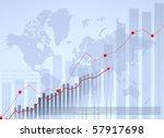 business graph | Shutterstock . vector #57917698