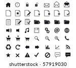 web business office   shop signs | Shutterstock .eps vector #57919030