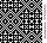 vector seamless pattern.... | Shutterstock .eps vector #579232921
