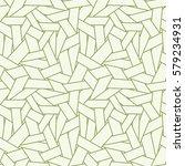 vector seamless abstract linear ... | Shutterstock .eps vector #579234931
