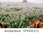 Close Up Photograph Of Ice And...