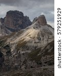 Small photo of Hiking in the Dolomites. The Dolomites, a scenic part of the Alps located in Italy, are an absolute mecca for outdoor enthusiasts. Spectacular panoramas, mountainous massifs and rocky peaks.