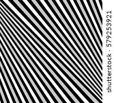 diagonal striped illustration.... | Shutterstock .eps vector #579253921