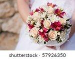 wedding bouquet | Shutterstock . vector #57926350