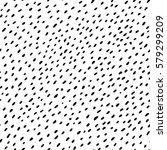 vector seamless pattern. hand... | Shutterstock .eps vector #579299209