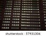 Airport Departure Board  Lande...