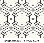 seamless geometric line pattern.... | Shutterstock .eps vector #579325675
