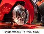 Brake Disk And Detail Of A...