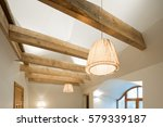 Wooden Design. Wooden Beams And ...