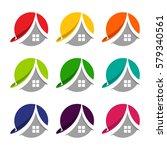 logo design initials letter a... | Shutterstock .eps vector #579340561