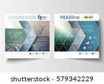 business templates for square... | Shutterstock .eps vector #579342229